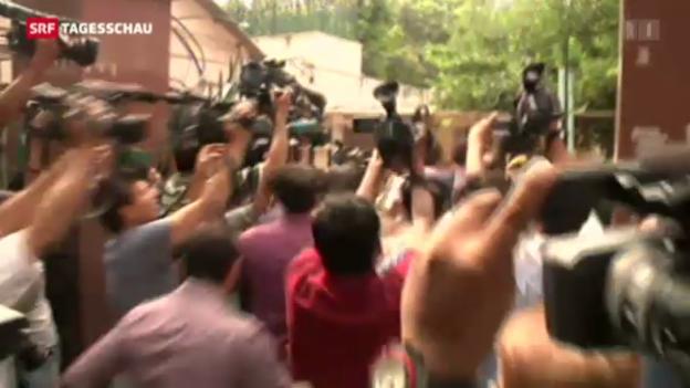 Video «Indien: Drei Jahre für Vergewaltiger» abspielen