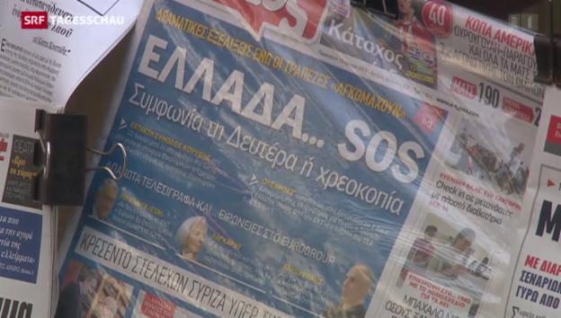 Video «Zittern um Griechenland» abspielen