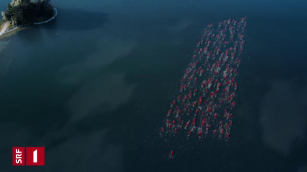 Video «Station Ident SRF 1: Schwimmer» abspielen