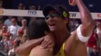Video «Männer-Halbfinal: Santos/Alvaro Filho - Brouwer/Meeuwsen» abspielen