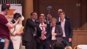 Video «Gerhard Pfister übernimmt CVP-Spitze » abspielen