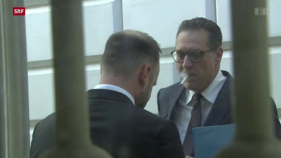 Prozessauftakt gegen Ex-FPÖ-Chef Strache