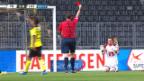 Video «Fussball: Super League, Highlights YB - Luzern» abspielen