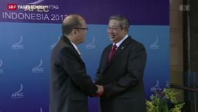 Video «APEC-Gipfeltreffen» abspielen