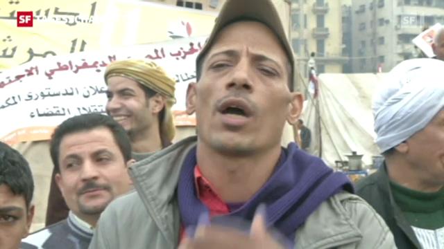 Präsident Mursi uneinsichtig