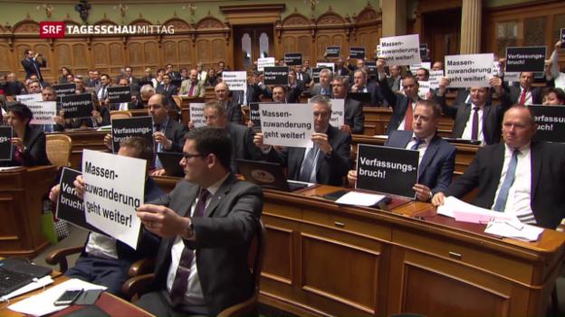 Video «Schlussabstimmung zur Masseneinwanderungs-Initiative» abspielen