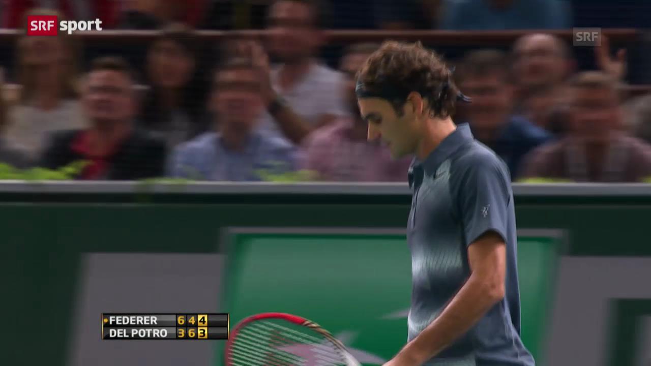 Zusammenfassung Federer - Del Potro («sportaktuell»)