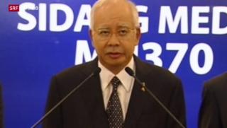 Video «Neue Erkenntnisse zur MH370» abspielen