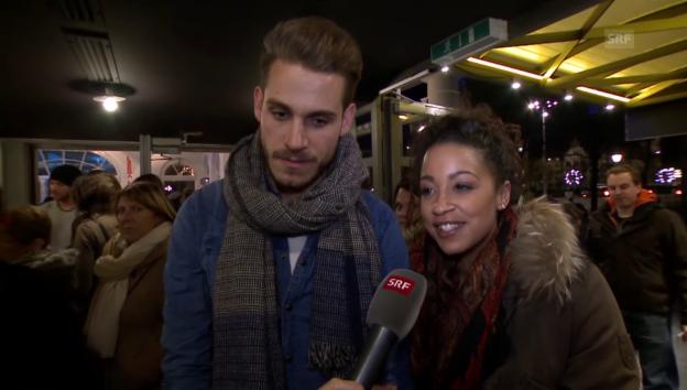 Video «Fabienne Louves und Luca Schneider über ihr Liebesnest» abspielen