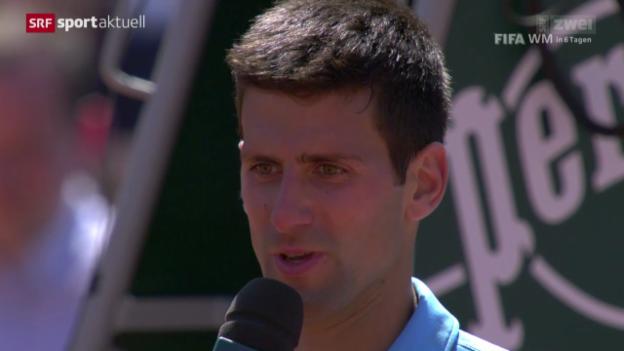 Video «Tennis: French Open, Zusammenfassung Djokovic - Gulbis» abspielen