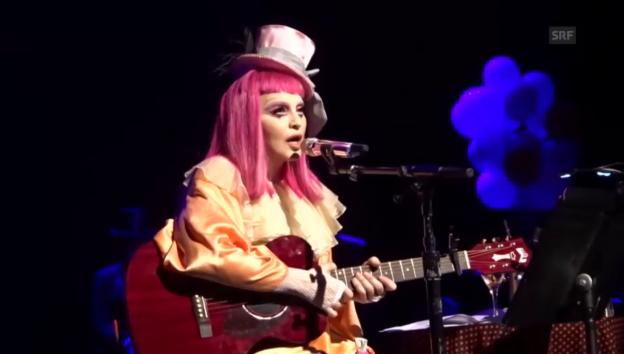 Video «Madonna als trauriger Clown» abspielen
