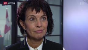 Video «Nachgefragt bei Bundesrätin Doris Leuthard» abspielen