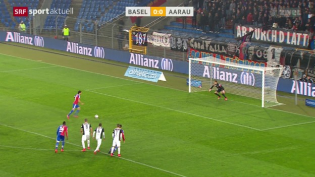 Video «Fussball: Super League, Basel - Aarau» abspielen