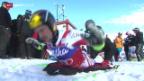 Video «Ski: Riesenslalom Männer in Adelboden» abspielen