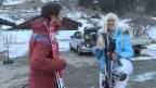 Video «Auf der Skipiste mit «Schweiz aktuell»-Moderator Otmar Seiler» abspielen