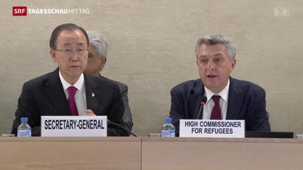 Video «Syrien-Konferenz eröffnet» abspielen