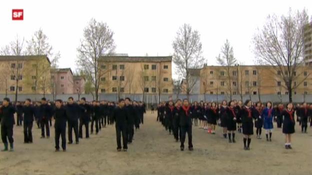 Video «Nordkorea: Drill, Disziplin und Demut» abspielen