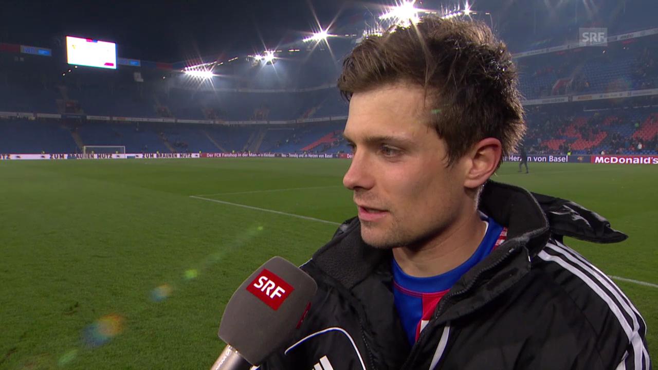 Fussball: Super League, Basel - Zürich, Interview Valentin Stocker