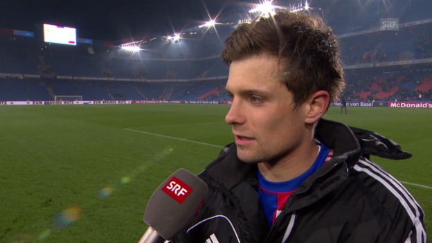 Video «Fussball: Super League, Basel - Zürich, Interview Valentin Stocker» abspielen