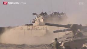Video «Waffenruhe in Gaza gebrochen» abspielen