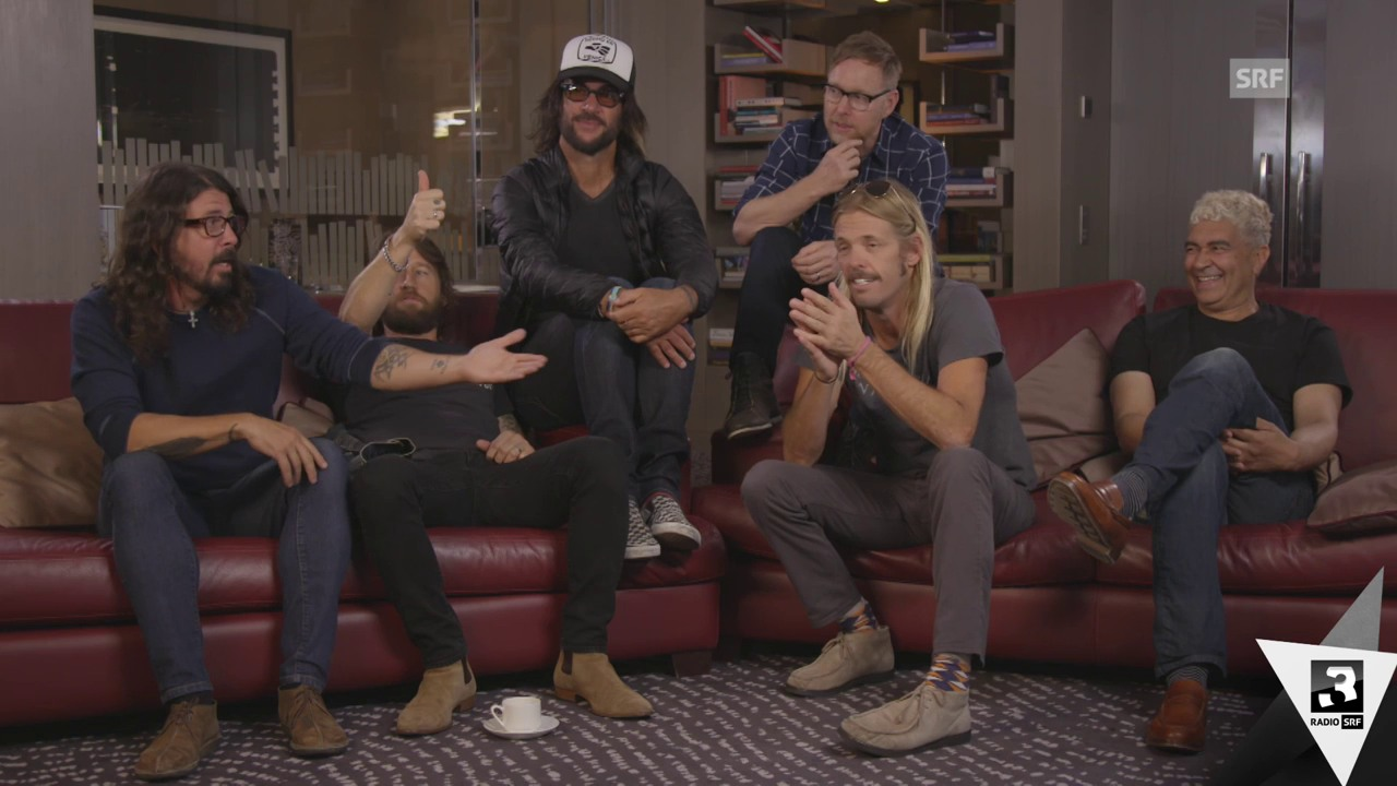 Foo Fighters: Das ganze Interview (ohne Untertitel)