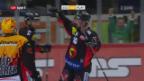 Video «Nur Scherwey trifft bei SCB-Ambri» abspielen