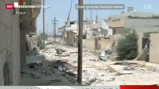 Russische Waffenlieferungen ans syrische Regime