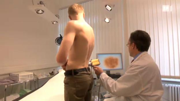 Video «Immer mehr Hautkrebs-Diagnosen - (k)ein Grund zur Besorgnis?» abspielen