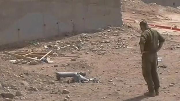 Video «Raketenangriff auf Eilat (unkommentiert)» abspielen