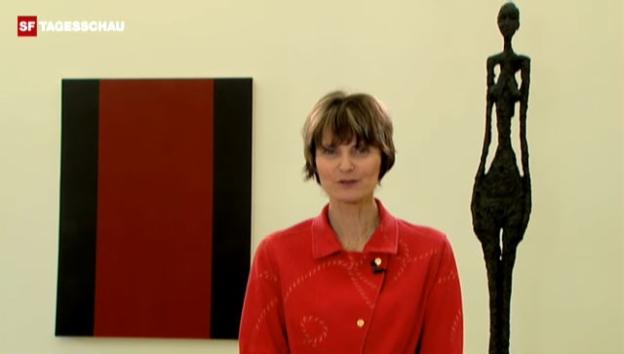 Video «Bescheidenheit und Selbstkritik – für Bundespräsidentin Calmy-Rey zwei typisch schweizerische Tugenden.» abspielen