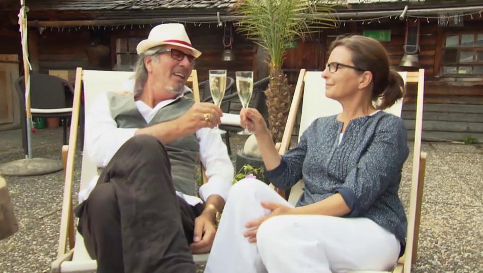 Konfrontativ: Hans Schenker und Isabelle von Siebenthal im Zwist
