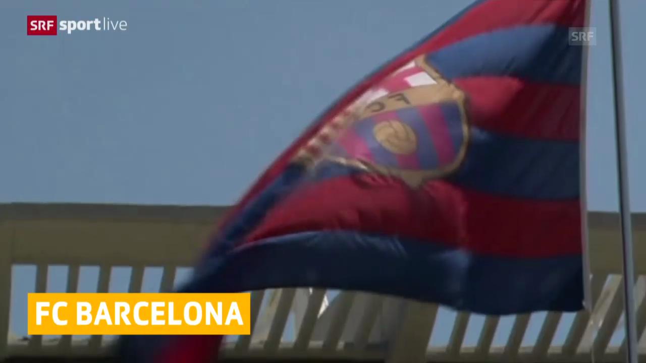 Fussball, FC Barcelona, Aufhebung der Transfersperre