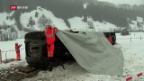 Video «Wie Sturm Burglind einen Zug aus den Schienen warf» abspielen
