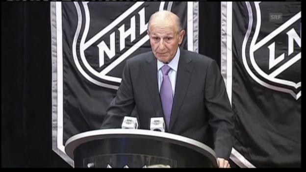 Video «NHL: Boston-Bruins-Besitzer Jeremy Jacobs zur Ratifizierung des Gesamtarbeitsvertrags mit der Spielergewerkschaft.» abspielen
