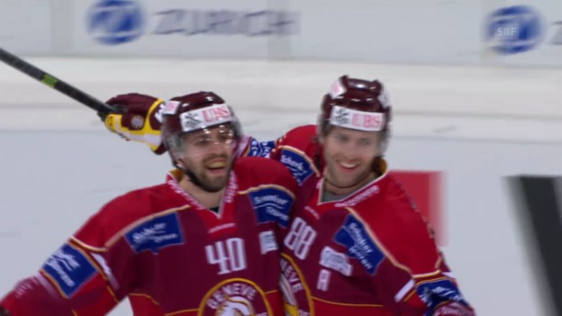 Video «Eishockey: Spengler Cup, Final Ufa - Genf» abspielen
