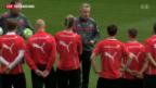 Video «Offene Fragen vor dem Spiel gegen Zypern» abspielen