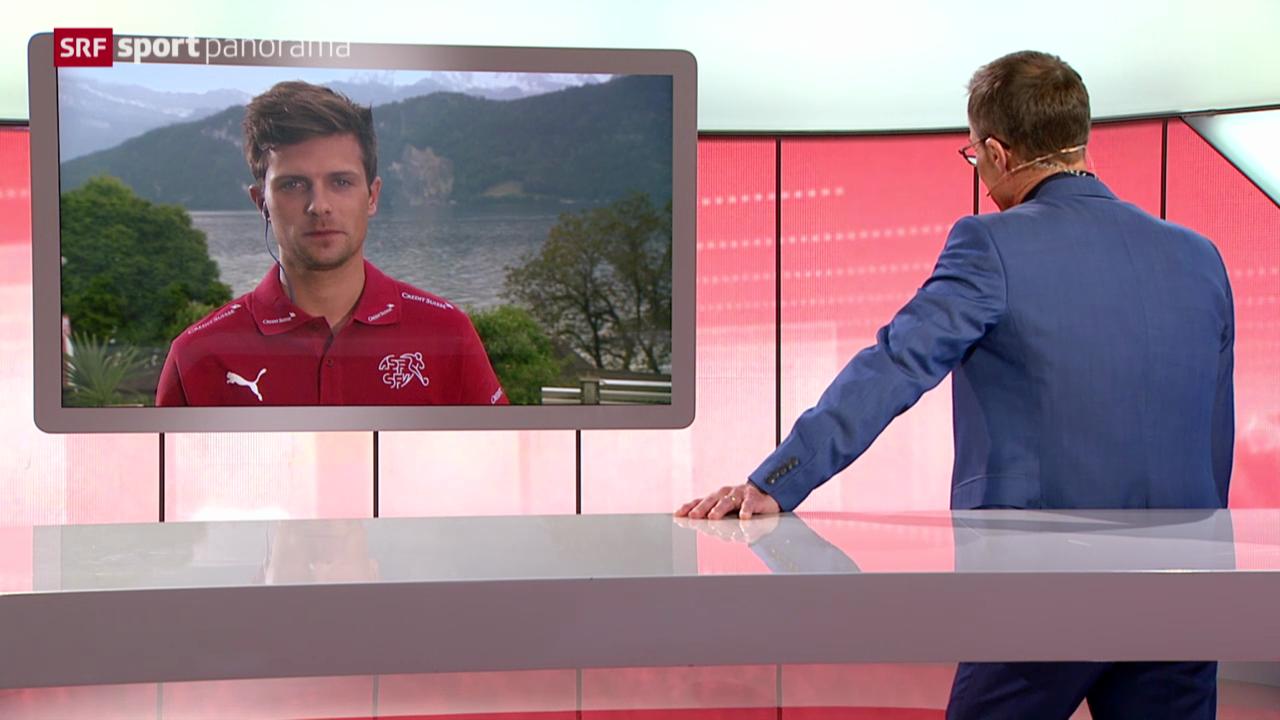 Fussball: Die Schweizer Nati in Weggis