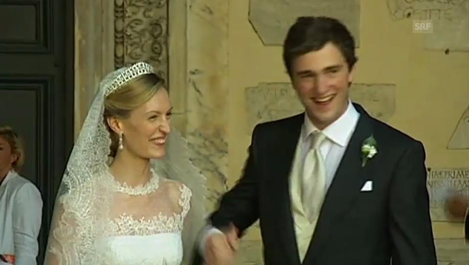 Hochzeit Prinz Amedeo (unkommentiertes Video)