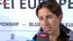Video «Reiten: Janika Sprunger vor dem EM-Einzelspringen» abspielen