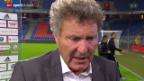 Video «Fussball: Stimmen zum Spiel in Basel» abspielen