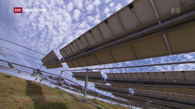 Video «Solarzellen-Hersteller im Aufwind» abspielen