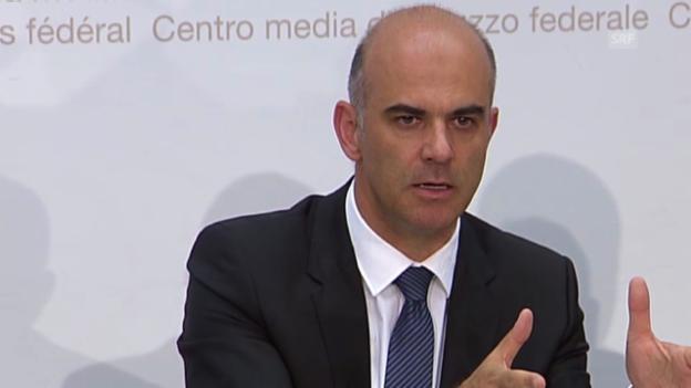 Video «Bundesrat Berset zur Massnahme Flexibilisierung» abspielen