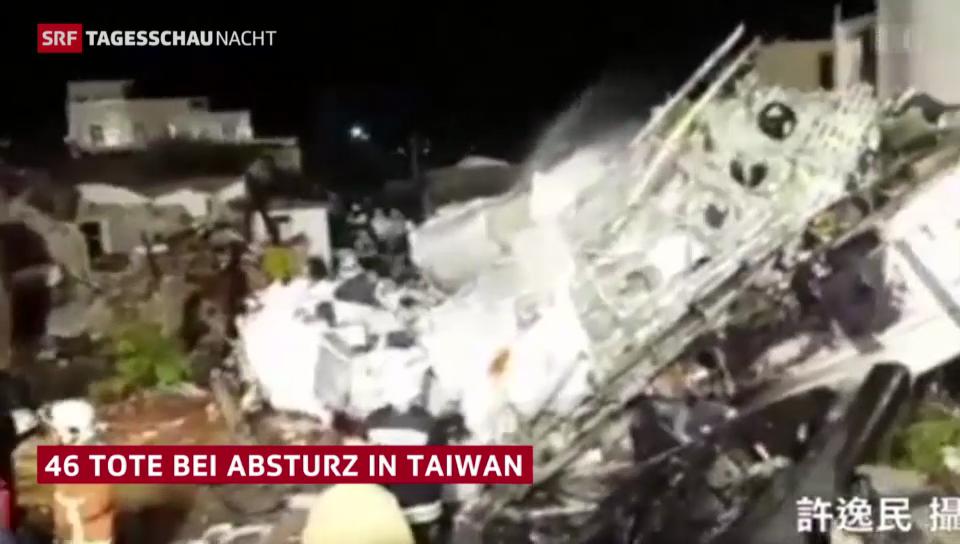 Flugzeugabsturz auf Taiwan