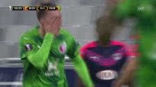 Video «Fussball: EL, Bordeaux-Rubin» abspielen