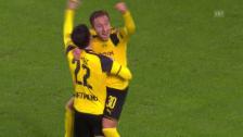 Video «Das Rekord-Spektakel zwischen Dortmund und Legia Warschau» abspielen