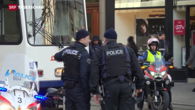 Video «Lage in Genf normalisiert sich langsam» abspielen