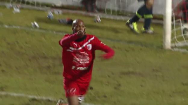 Video «Fussball: Rückblick auf Cup-Viertelfinal Biel - Basel» abspielen