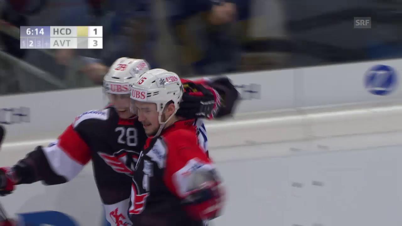 Eishockey: Spengler Cup 2015, Davos-Jekaterinburg, 1:3 Jemelin