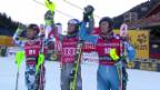 Video «Pinturault in Superkombi überragend, Schweizer halten gut mit» abspielen
