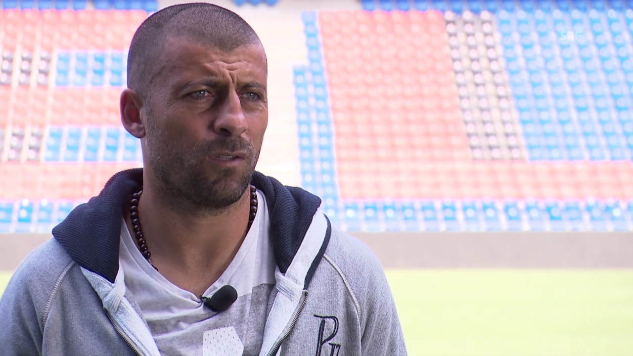 Fussball: CL, Real-Basel, Interview mit Walter Samuel über die Chancen des FCB
